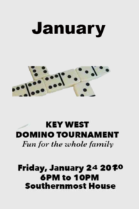 Sunset Rotary Domino Tournament @ Southernmost House | Key West | Florida | United States