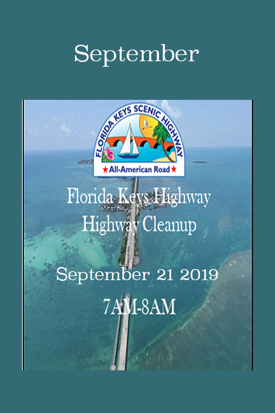 Florida Keys Scenic Hwy clean up